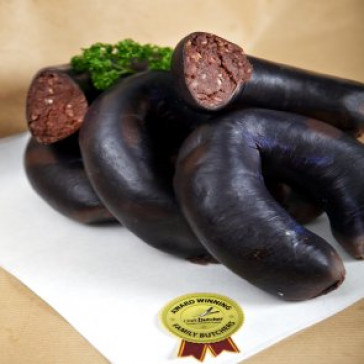 Homemade Black Pudding