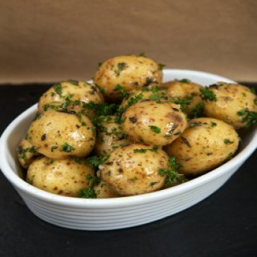 Fresh Garlic and Rosemary Potatoes
