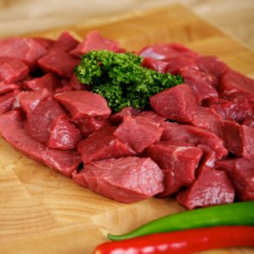 Round Steak Pieces