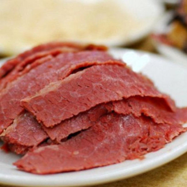 Sliced corned beef deli meat for What to do with salt beef