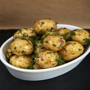 Fresh Garlic and Rosemary Potatoes