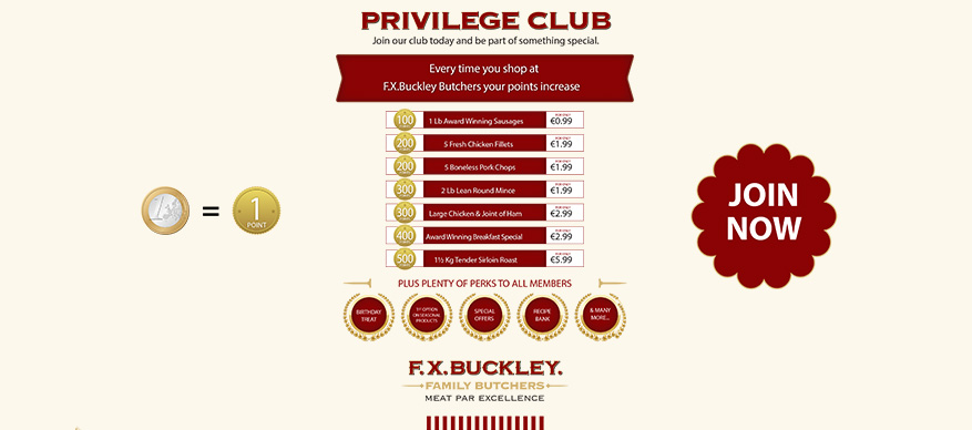 Join Our Privilege Club